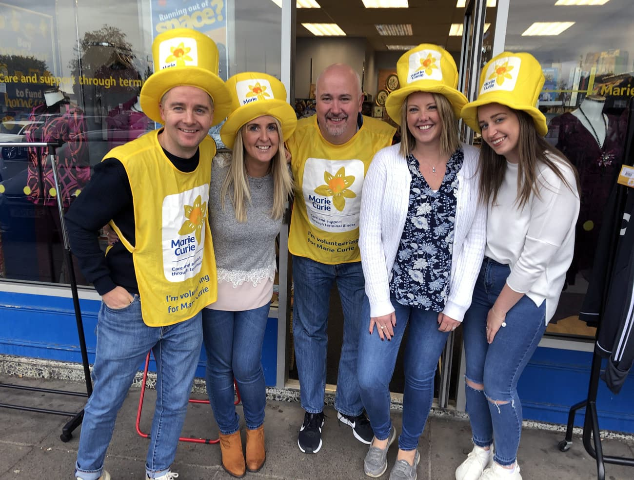 Marie Curie Shops Challenge